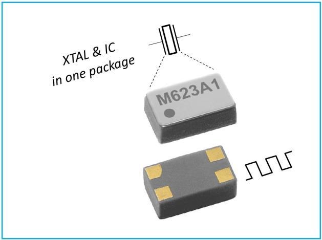 32.768 kHz oscillator module consumes less power